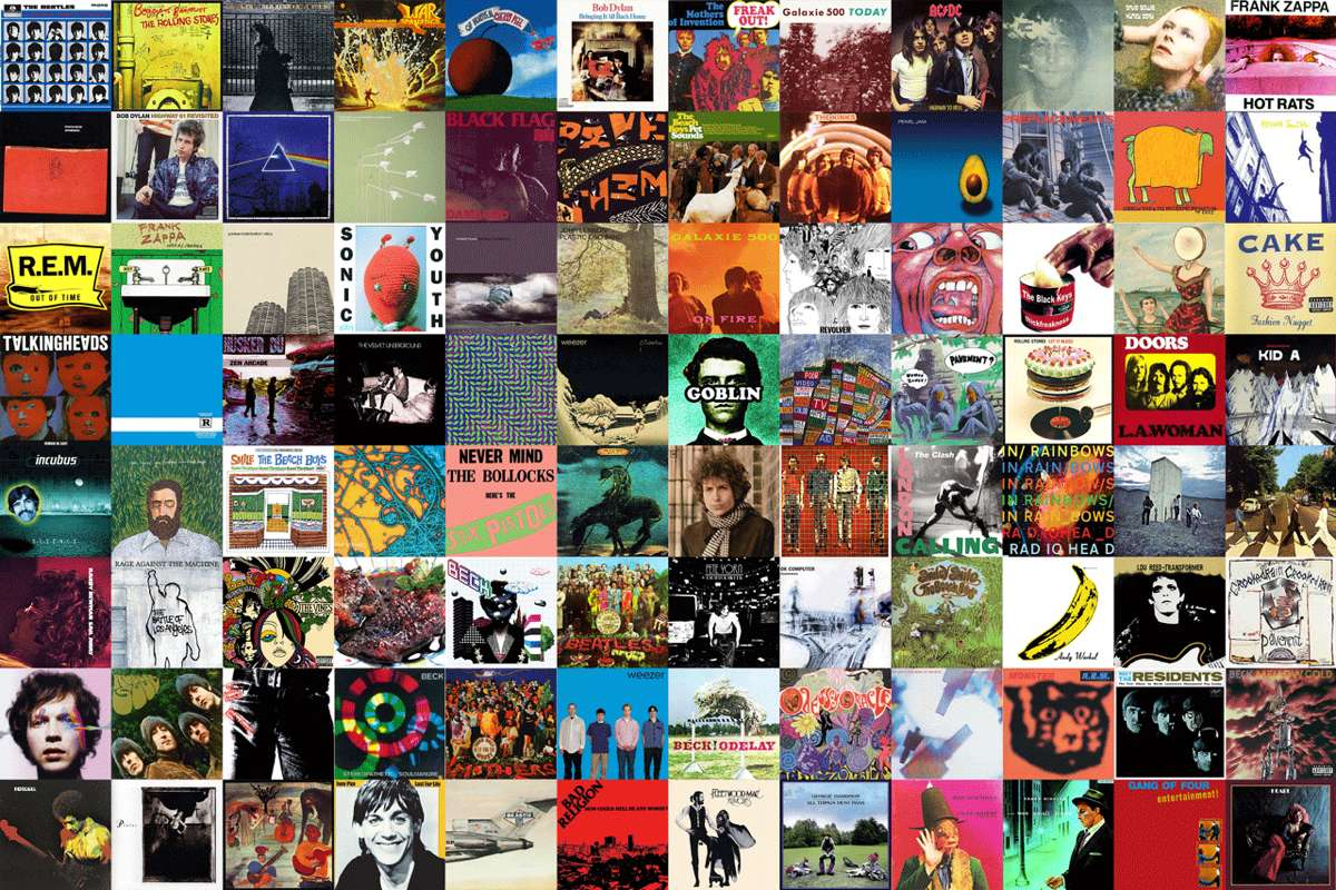Collage-of-vinyl-record-covers